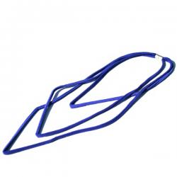Materia Design Segmenti Velluto Long Necklace