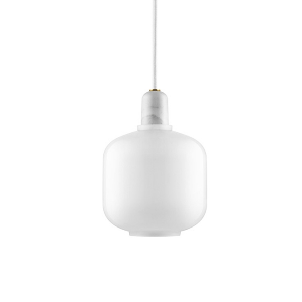 Normann Copenhagen Amp Pendant Light Small White