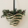 Stelton Tangle Door Ornament Brass