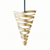 Stelton Tangle Cornet Ornament Brass