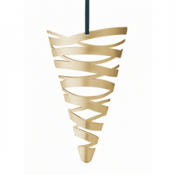 Stelton Tangle Cornet Ornament Brass