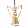 Stelton Tangle Angel Ornament Brass