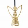 Stelton Tangle Angel Ornament Brass