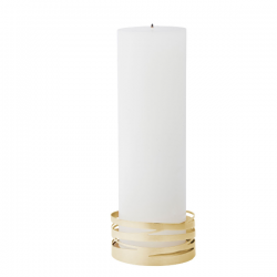 Stelton Tangle Calendar Candle Holder Brass