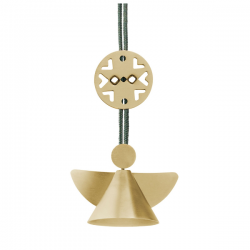 Stelton Nordic Angel Ornament Mini Brass