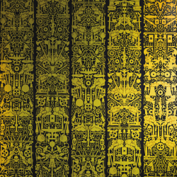 NLXL Lab JOB-09 Robbe Baron Wallpaper by Studio - Limited Edtion Metallic Gold