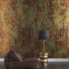 NLXL Lab PHC-02 Spoiled Copper Metallic Wallpaper by Piet Hein Eik