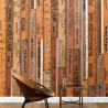 NLXL Lab Printed Rulers Wallpaper by Mr & Mrs Vintage