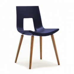 Tonon Nine Eighteen Chair Wooden Legs