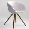 Tonon Structure Chair Wooden Legs