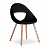 Tonon Lucky Chair Wooden Legs