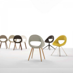 Tonon Lucky Chair Wooden Legs