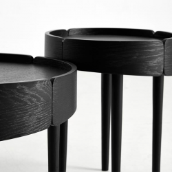 Woud Skirt Small Coffee Tables