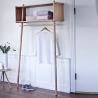 Woud Töjbox Clothes Rail/Wardrobe