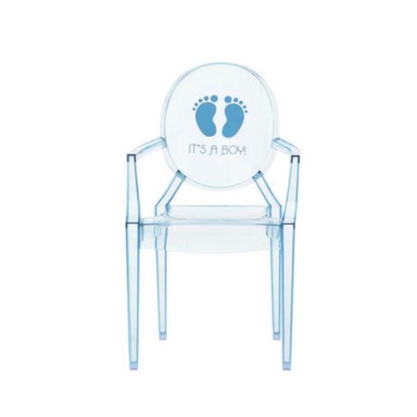 Kartell Lou Lou Ghost Chair It is a Boy
