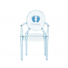 Kartell Lou Lou Ghost Chair It is a Boy