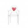 Kartell Lou Lou Ghost Chair Heart