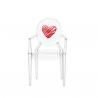 Kartell Lou Lou Ghost Chair Heart