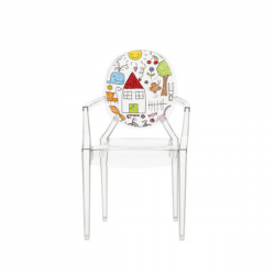 Kartell Lou Lou Ghost Chair Sketches