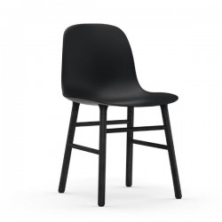 Normann Copenhagen Form Chair Black Legs