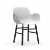 Normann Copenhagen Form Armchair Black Legs
