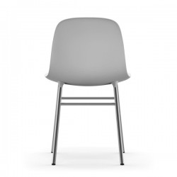 Normann Copenhagen Form Chair Chrome Legs