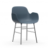 Normann Copenhagen Form Armchair Chrome Legs