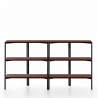 Emeco Run Shelf Walnut Black Frame