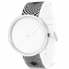 Picto Watch White Graphic Strap