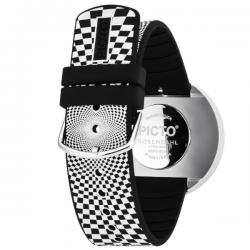 Picto Watch Black Graphic Strap