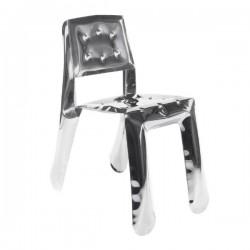 Zieta Chippensteel 0.5 Chair Stainless Steel Polished