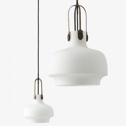 &Tradition Copenhagen Pendant Lamp Opal Glass