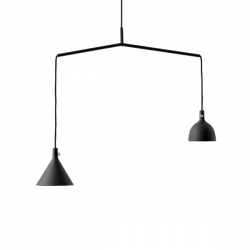 Menu Cast Pendant, Shape 4