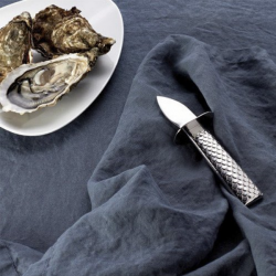 Alessi Colombina Fish Oyster Knife