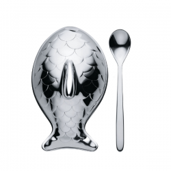 Alessi Colombina Fish Salt Cellar