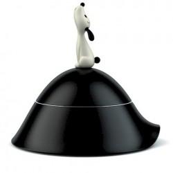 Alessi Lula Dog Bowl Black