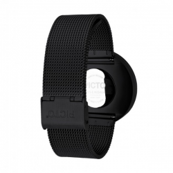 Picto  Watch Black, Black Mesh