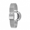 Picto Watch White, Steel Mesh