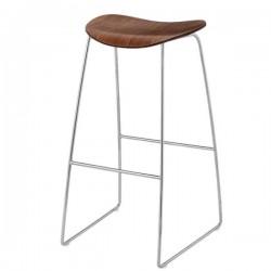 Gubi 2D Bar Stool Sledge Base