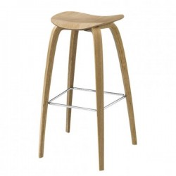 Gubi 2D Stool Wood Base