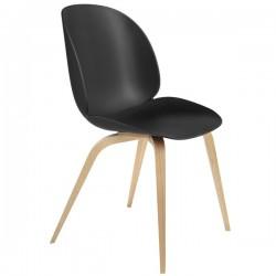Gubi Beetle Chair Unupholstered Shell Wood Base
