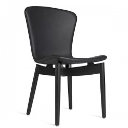 Mater Shell Dining Chair | Ultra Black
