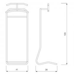 ClassiCon Saturn Coat Stand