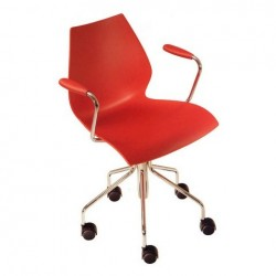 Kartell Maui Girevole Chair red