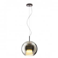 Fabbian Beluga Royal Pendant Lamp Platinum