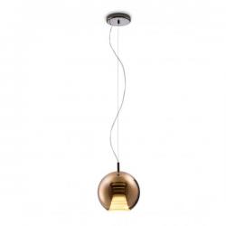 Fabbian Beluga Royal Pendant Lamp Copper
