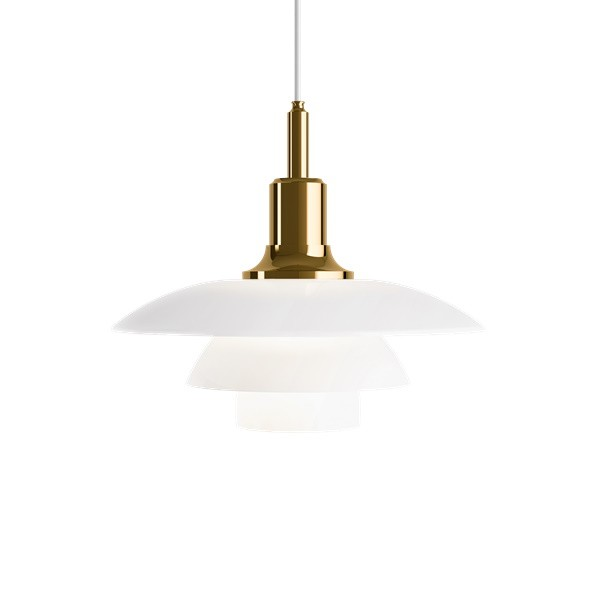 Louis Poulsen PH 3½-3 Glass Pendant Light