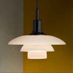 Louis Poulsen PH 3½-3 Glass Pendant Light