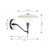 Louis Poulsen PH 3/2 Wall Lamp