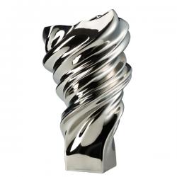 Rosenthal Squall Vase Silver Titanium